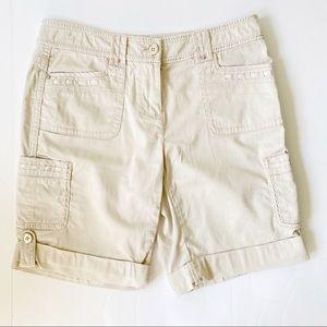 Cargo Shorts- White House Black Market